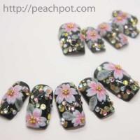 和ネイル♪桜のネイルチップ~